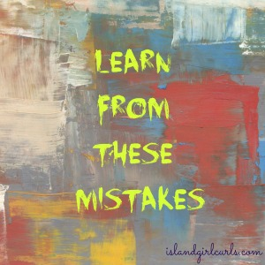 learn from these mistakes